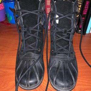 Ugg black winter boots